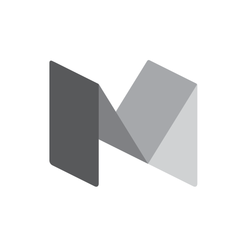 Medium logo gray